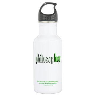 philosopher green 532 ml water bottle