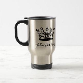Philosopher King travel mug (right-hand)