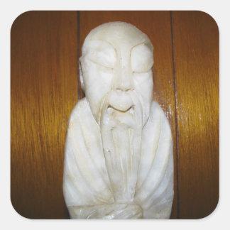 Philosopher Monk Sticker