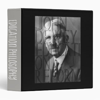 Philosopher of Education 3 Ring Binder