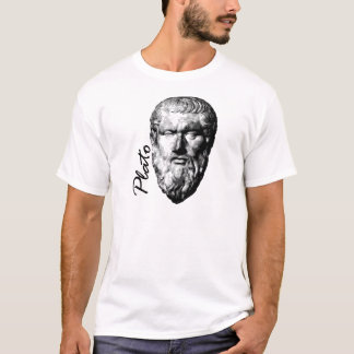 Philosopher Plato White Mens T-Shirt