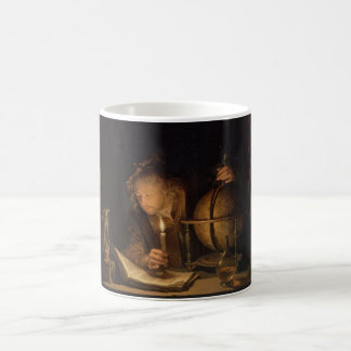 Philosopher Studying by Candlelight Coffee Mug