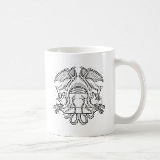 Philosopher's Stone Dragon Emblem Classic White Coffee Mug