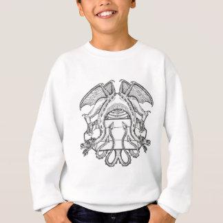 Philosopher's Stone Dragon Emblem Sweatshirt