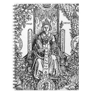 Philosophia by Albrecht Durer Spiral Note Book