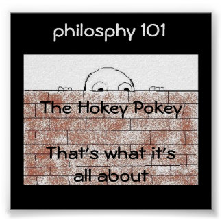 Philosophy 101 - poster/print poster