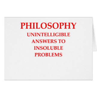 philosophy card