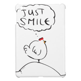 Philosophy Chicken - just smile iPad Mini Case