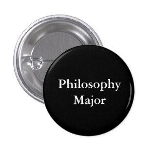 Philosophy Major 1 Inch Round Button
