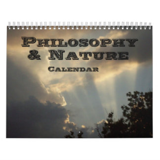 Philosophy & Nature Calendars