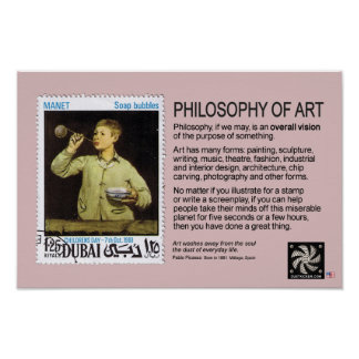 PHILOSOPHY OF ART POSTER