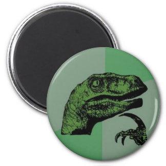 Philosoraptor 2 Inch Round Magnet