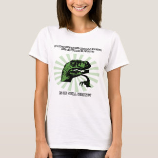 Philosoraptor Men and Women T-Shirt