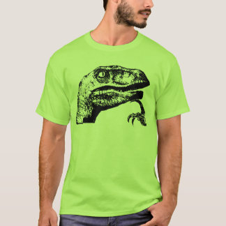 Philosoraptor - Philosopher Raptor? T-Shirt