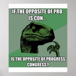 Philosoraptor Progress Vs Congress Print