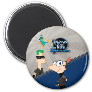 Phineas and Ferb - 2D Magnet