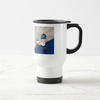 Phineas and Ferb - 2D Travel Mug