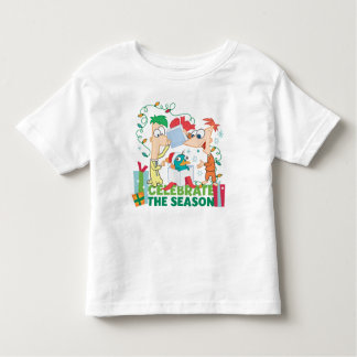 Phineas and Ferb Celebrate the Season Toddler T-shirt