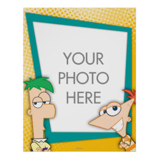 Phineas and Ferb Customizable Poster