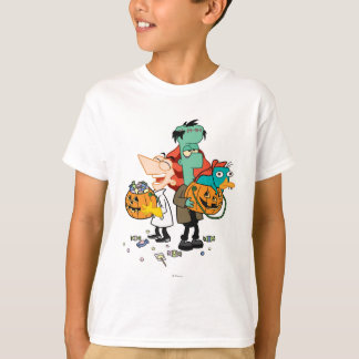 Phineas and Ferb Halloween Shirts