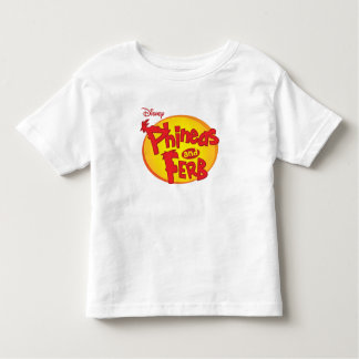 Phineas and Ferb Logo Disney Toddler T-shirt