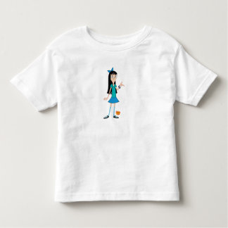 Phineas and Ferb's Stacy Disney Toddler T-shirt