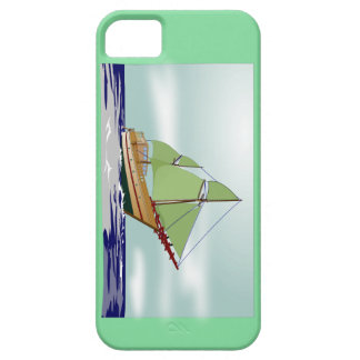 Phinisi Sailing Boat Case For The iPhone 5