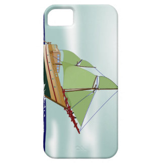 Phinisi Wooden Sailboat iPhone 5 Cover