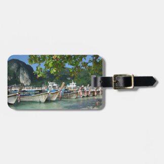 Phiphiisland_card Luggage Tag