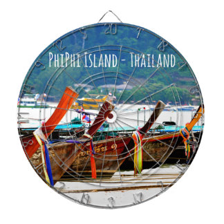 Phiphiisland postcard edition dartboard