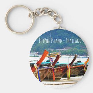 Phiphiisland postcard edition keychain