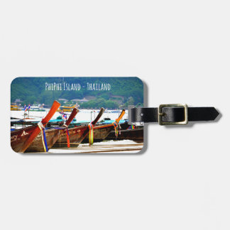 Phiphiisland postcard edition luggage tag