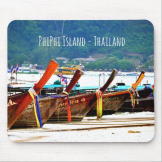 Phiphiisland postcard edition mouse pad