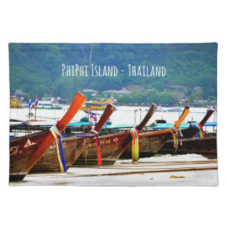 Phiphiisland postcard edition placemat