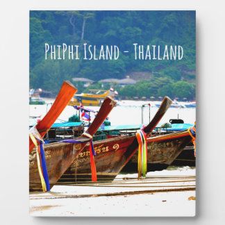 Phiphiisland postcard edition plaque