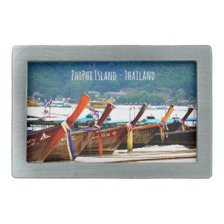 Phiphiisland postcard edition rectangular belt buckle