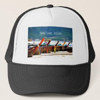 Phiphiisland postcard edition trucker hat
