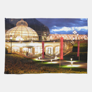 Phipps Conservatory at Night Hand Towels