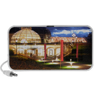 Phipps Conservatory at Night Notebook Speaker