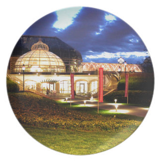 Phipps Conservatory at Night Party Plate