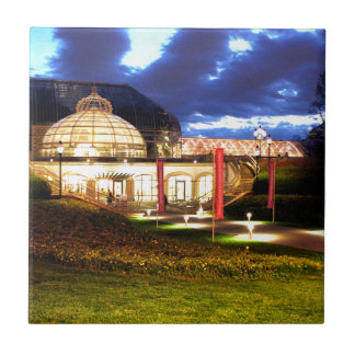 Phipps Conservatory at Night Tile