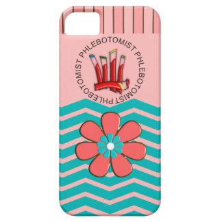 Phlebotomist Chevron Design iPhone 5 Cases