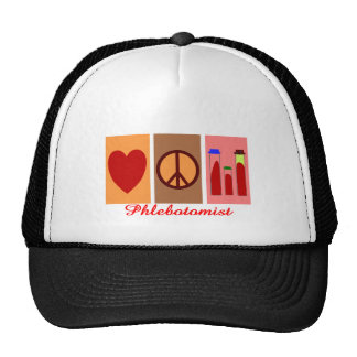 Phlebotomist Gifts Mesh Hats