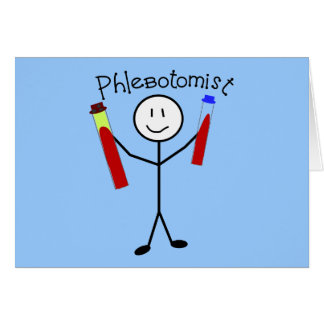 Phlebotomist Stick Person Cards