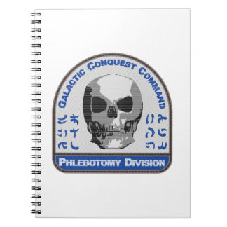 Phlebotomy Division - Galactic Conquest Command Spiral Note Book