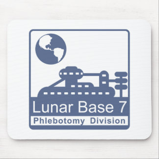 Phlebotomy / Lunar Base 7 Mouse Pad