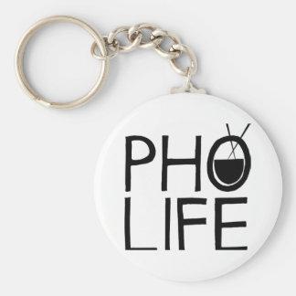 Pho Life Keychain