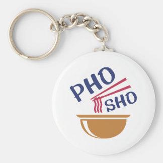 Pho Sho Keychain