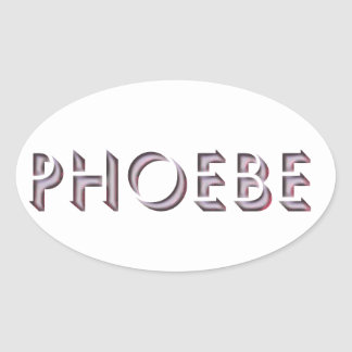 Phoebe sticker name