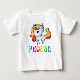 Phoebe Unicorn Baby T-Shirt